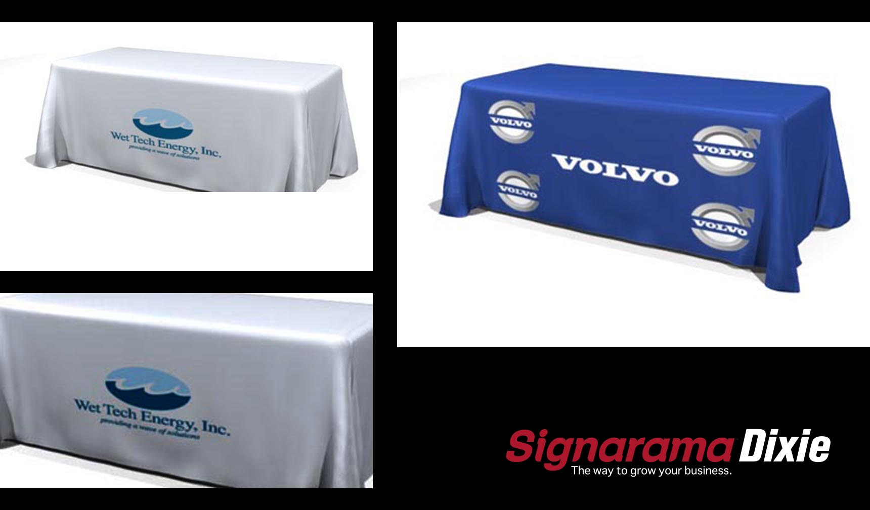 table cover for public event