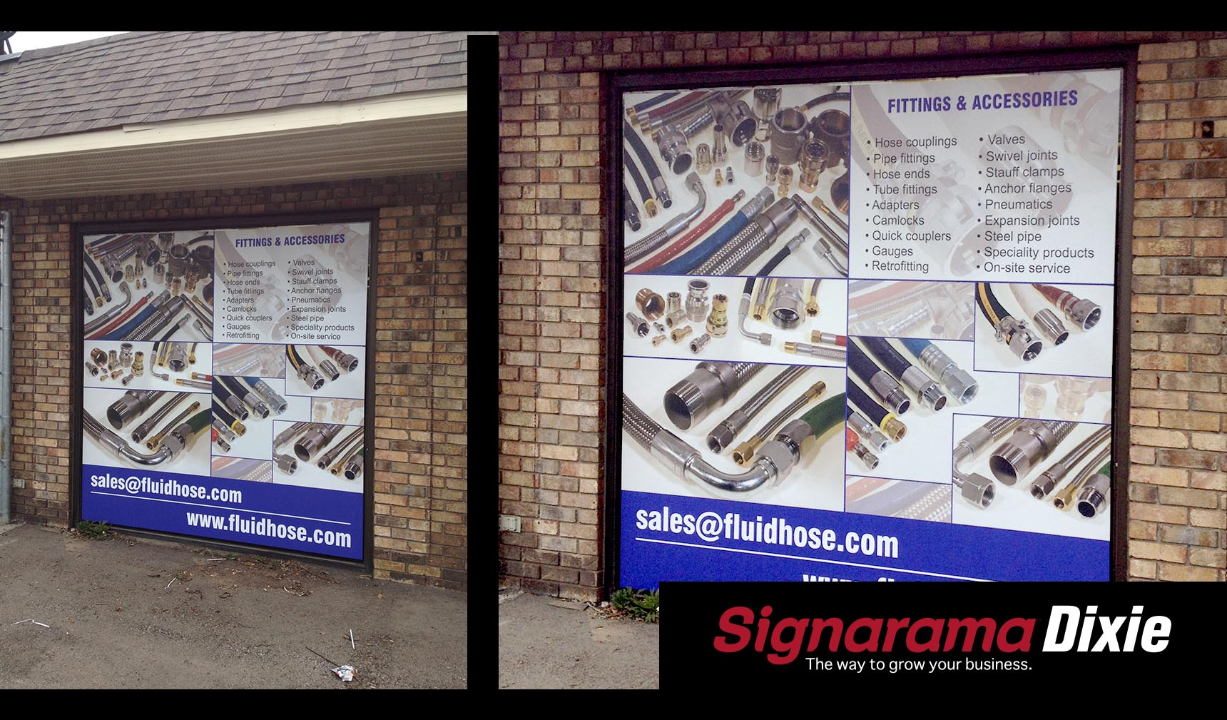 Window Wrap Signs