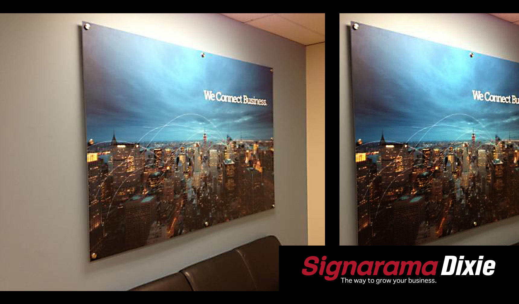 Office Display Sign Maker