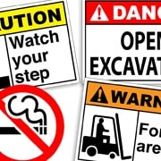 safety signs collection