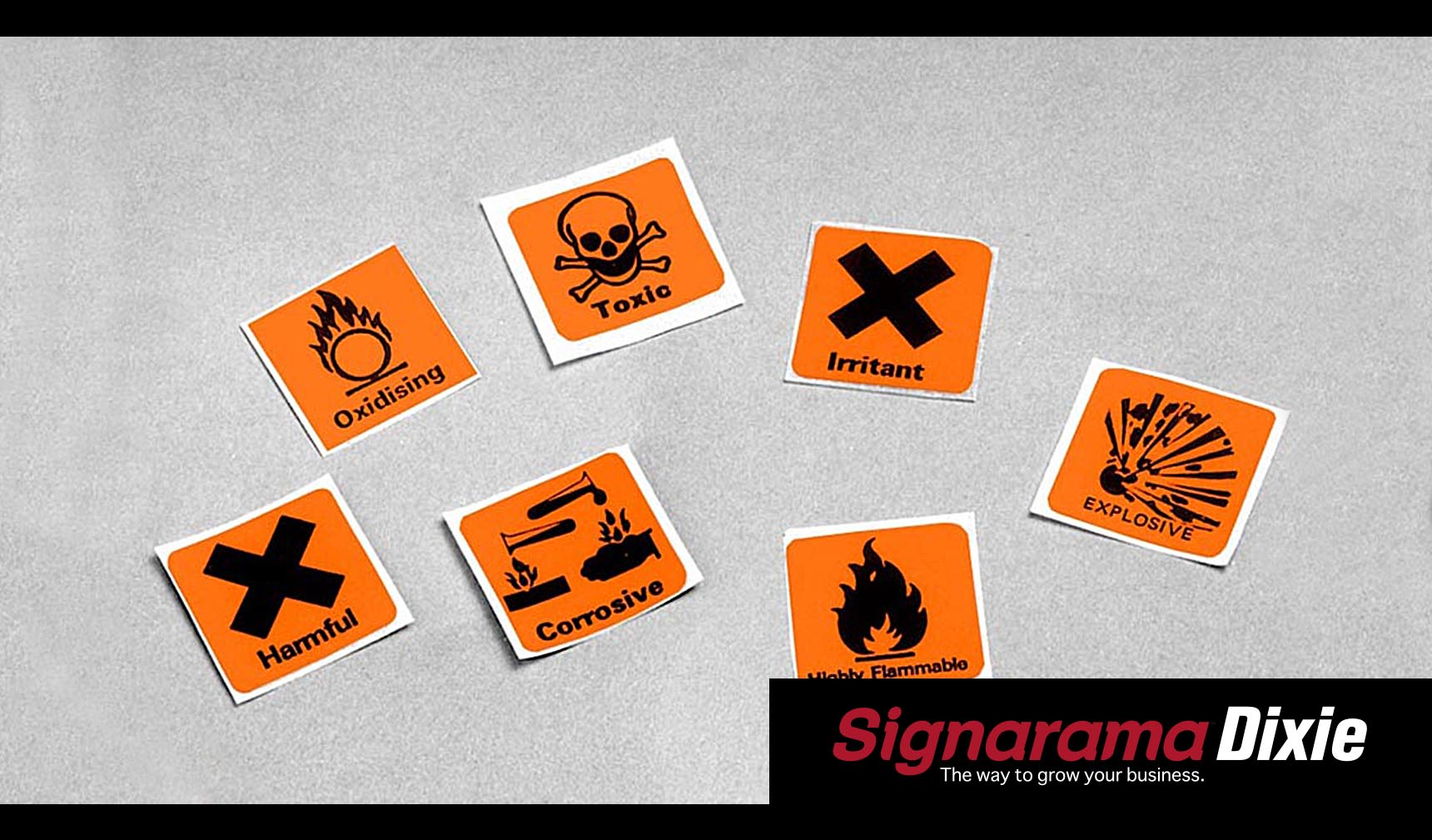 safety sign stickers