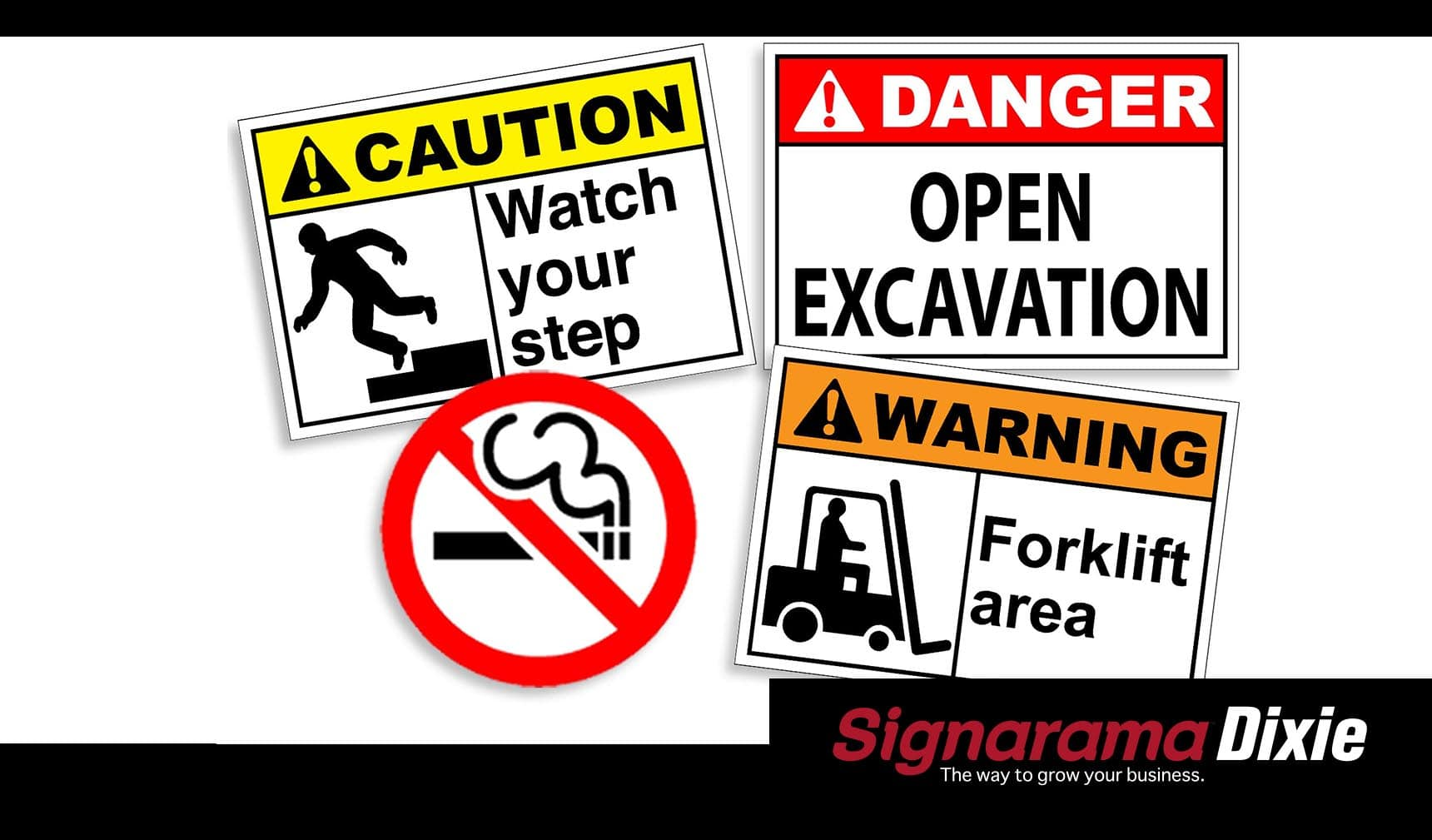 safety sign decals