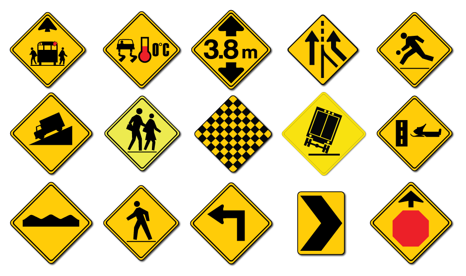 Warning Signs for sale